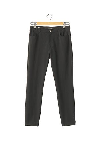 Pantalon casual noir WEEKEND MAXMARA pour femme