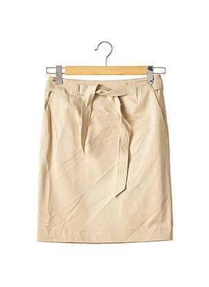 Jupe mi-longue beige MAXMARA pour femme