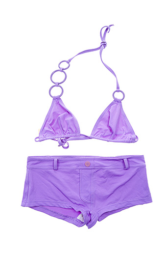Maillot de bain 2 pièces violet ERES pour femme