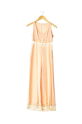 Combi-pantalon orange CHLOE pour femme