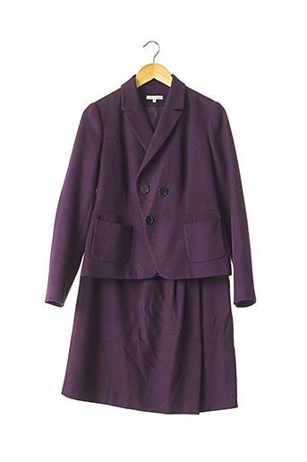 Veste/jupe violet PAULE KA pour femme