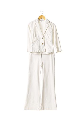 Veste/pantalon blanc DIANE VON FURSTENBERG pour femme