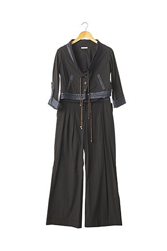 Veste/pantalon noir PAULE KA pour femme
