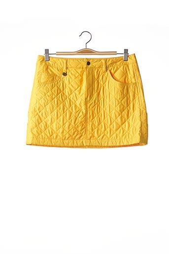 Jupe courte jaune RALPH LAUREN pour femme
