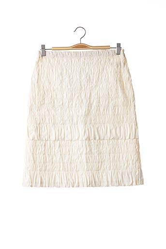 Jupe mi-longue beige PAULE KA pour femme