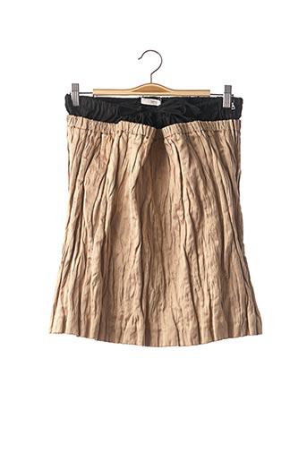 Jupe mi-longue beige PRADA pour femme