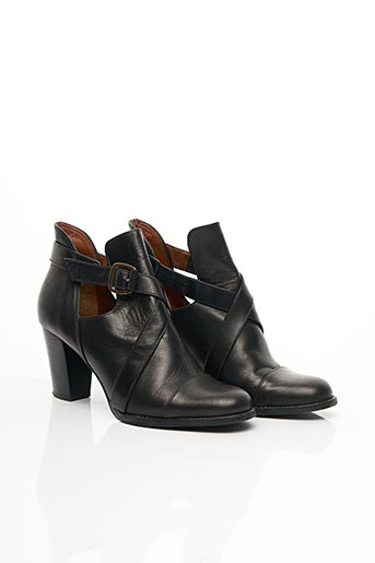 Bottines/Boots noir ACCESSOIRE DIFFUSION pour femme