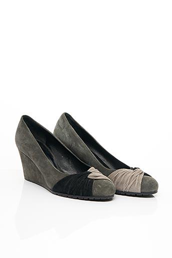 Escarpins gris FRANCOIS PINET pour femme
