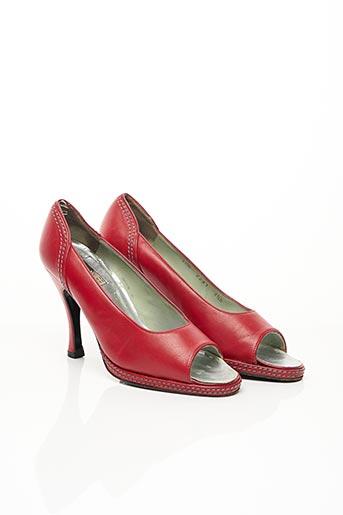 Escarpins rouge CHARLES JOURDAN pour femme
