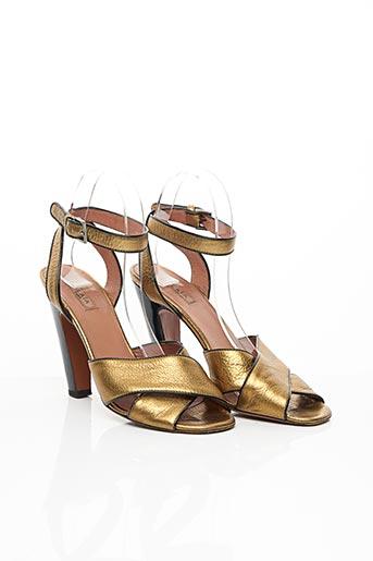 Sandales/Nu pieds jaune ALAIA pour femme