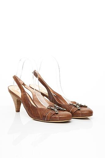 Sandales/Nu pieds marron FANCY pour femme