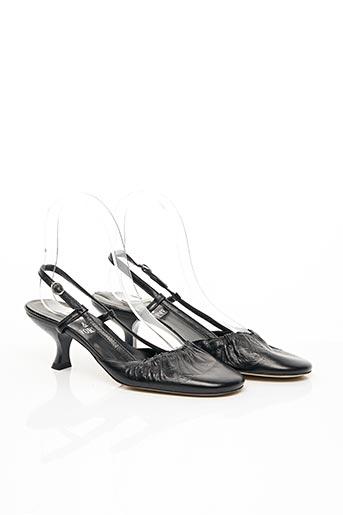 Sandales/Nu pieds noir FORME & FORME pour femme