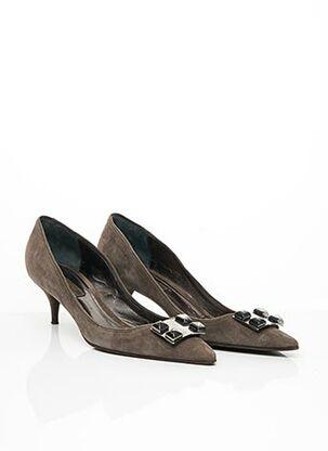 Escarpins gris APOSTROPHE pour femme