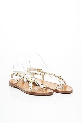 Sandales/Nu pieds blanc PAUL & JOE pour femme