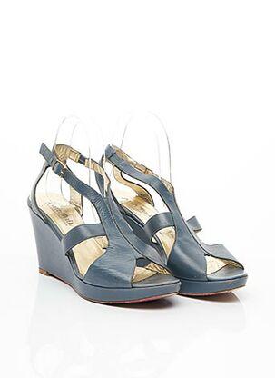 Sandales/Nu pieds bleu ANN TUIL pour femme