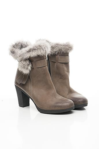 Bottines/Boots gris COSTA COSTA pour femme