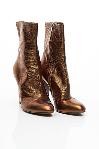 Bottines/Boots marron SERGIO ROSSI pour femme