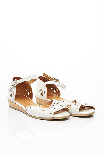 Sandales/Nu pieds blanc A.P.C. pour femme