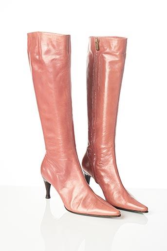 Bottes rose SERGIO ROSSI pour femme