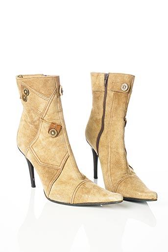 Bottines/Boots beige CASADEI pour femme