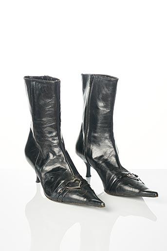 Bottines/Boots noir EDEN pour femme