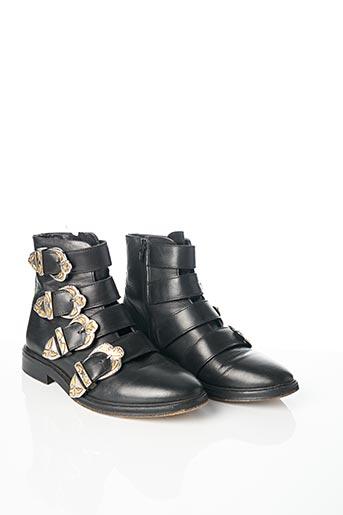 Bottines/Boots noir MAJE pour femme
