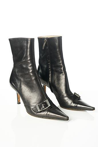 Bottines/Boots noir SERGIO ROSSI pour femme