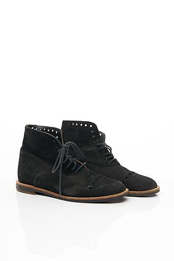 Bottines/Boots noir ACCESSOIRE DÉTENTE pour femme