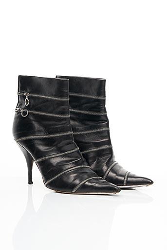 Bottines/Boots noir ERNESTO ESPOSITO pour femme