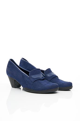 Mocassins bleu ARCHE pour femme