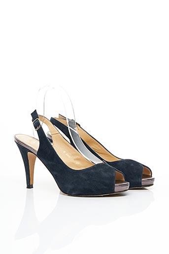 Sandales/Nu pieds bleu AUTHENTIC SHOES pour femme