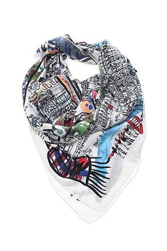 Foulard blanc FALIERO SARTI pour femme
