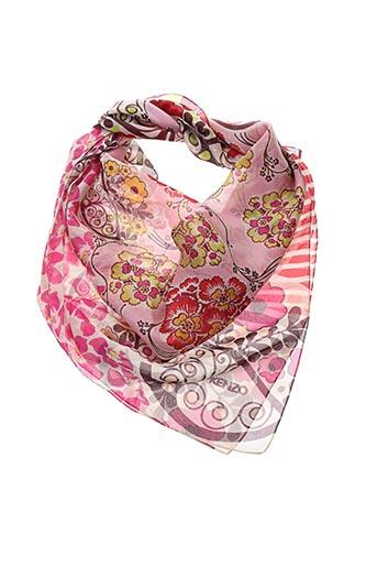 Foulard rose KENZO pour femme