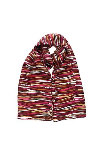 Foulard rouge BOTTEGA VENETA pour femme