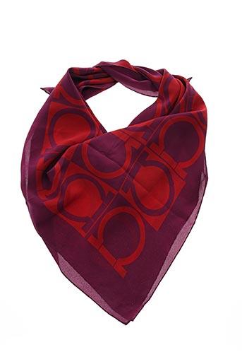 Foulard rouge SALVATORE FERRAGAMO pour femme