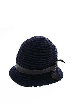Chapeau bleu LE CIVETTE pour femme