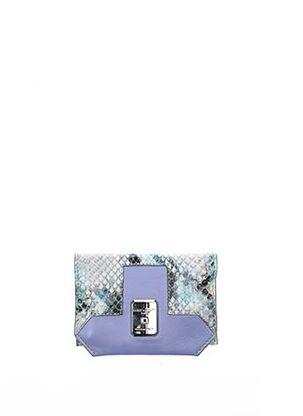 Porte-monnaie bleu AZZARO pour femme