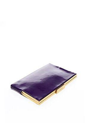 Pochette violet JIMMY CHOO pour femme