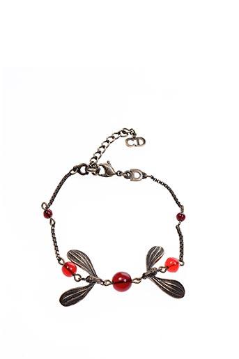 Bracelet rouge GIOR pour femme
