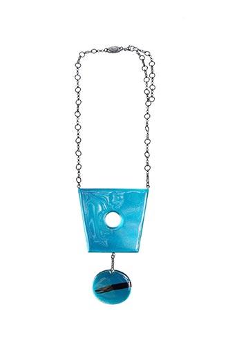 Collier bleu BABYLONE pour femme