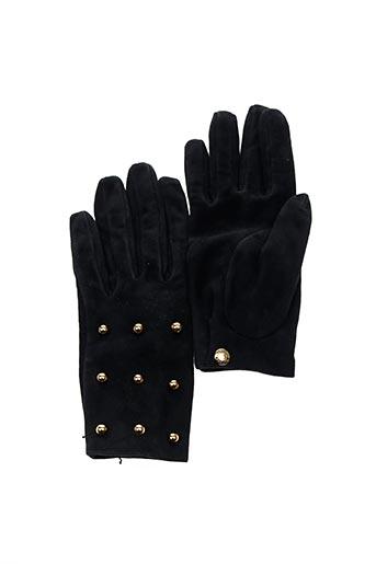Gants noir CAUSSE GANTIER pour femme