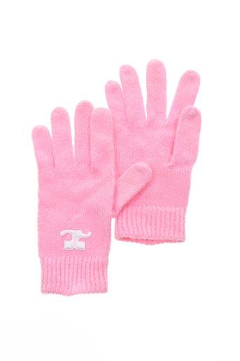 Gants rose COURREGES pour femme