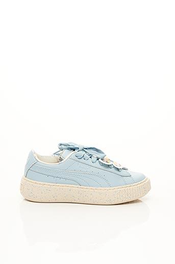 Baskets bleu PUMA pour fille