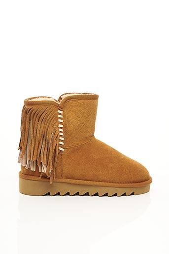 Bottines/Boots beige COLORS OF CALIFORNIA pour femme
