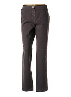 Pantalon casual gris CONCEPT K pour femme