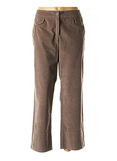 Pantalon casual marron CONCEPT K pour femme