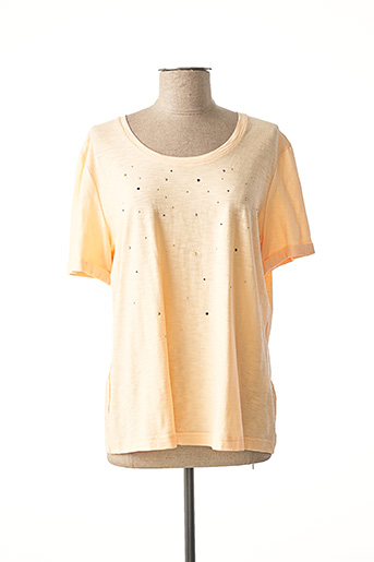 T-shirt manches courtes rose EUGEN KLEIN pour femme