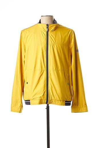 Coupe-vent jaune CABANO pour homme