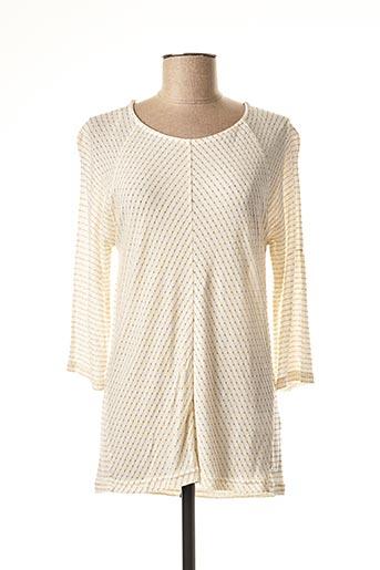T-shirt manches longues beige KATMAI pour femme