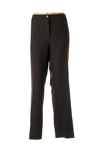 Pantalon chic noir DIANE LAURY pour femme